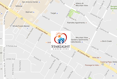 Contact Us Palo Alto Entire SF Bay Area Starlight Caregivers